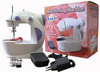 Мини швейная машинка 4 в 1 с педалью Mini Sewing