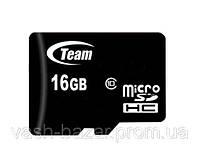 Карта памяти micro SD Team 16 Gb 10 class