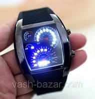 Часы светодиодные автомобильный Спидометр LED-подсветка бинарные гоночные часы купит, куплю