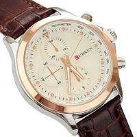 Часы мужские наручные кварцевые модные Curren