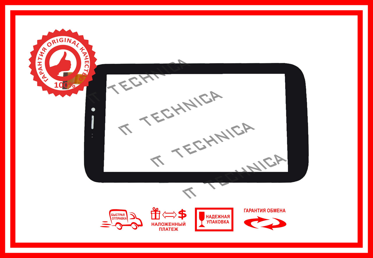 Тачскрин Samsung Galaxy TAB 3 Китай Черный Тип2