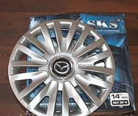 Колпаки на колеса SKS R14 Mazda - Колпаки на диски - Модель 217, купить комплект недорого