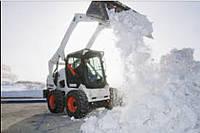 Очистка территории от снега