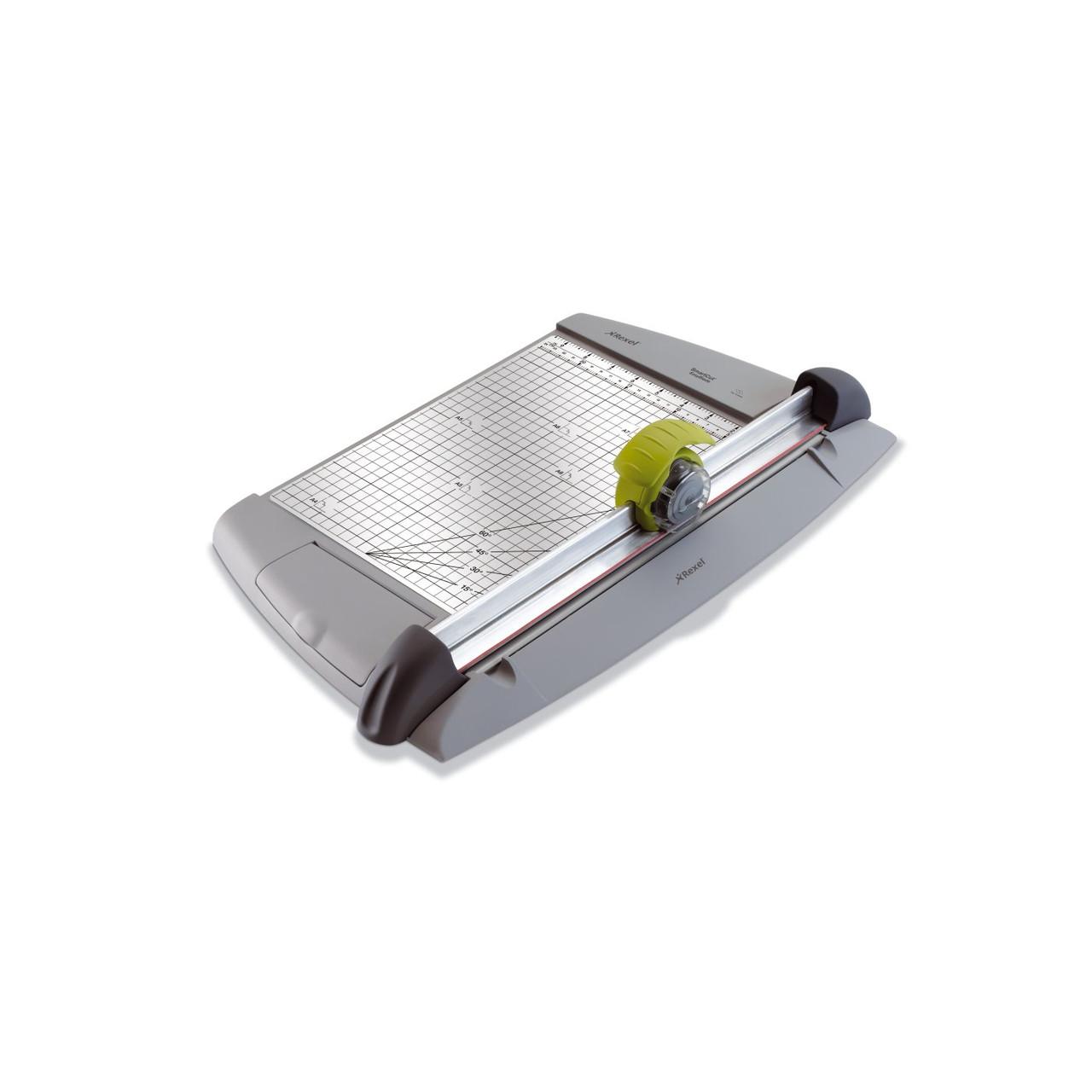 REXEL SMARTCUT EasyBlade резак роликовый , 320 мм., 10 листов. Высококачественная резка бумаги формата А4.