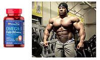 Омега 3 (100 капсул) США — полезный натуральный анаболик ( спортивное питание USA)