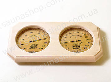 Термогігрометр для лазні та сауни Віктер ТГС 2