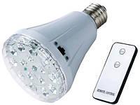 Светодиодная лампа с аккумулятором и дистанционным пультом управления YJ-1895L