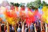 Фарба Холі, набір 10 кольорів по 100 грам