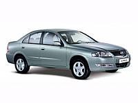 Автомобильные чехлы Nissan Almera В10 2006 Sedan (Съемные задние подголовники)