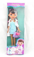 Кукла Доктор Плюшева с сумочкой