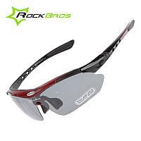 Тактические Поляризованные очки «RockBros Polarized» со сменными линзами / горнолыжная маска /очки для рыбалки