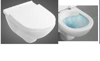 O.NOVO Direct Flush унитаз подвесной с крышкой soft-close 5660HR01