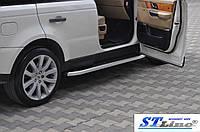 Боковые пороги для Land Rover Range-Rover SPORT 2005-2013 ST Line
