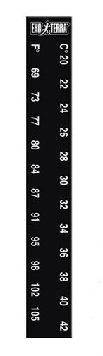 Термометр самоклеющийся Exo Terra Liquid Crystal Thermometer