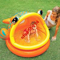 Детский бассейн Intex 57109 Рыба-шар с окном