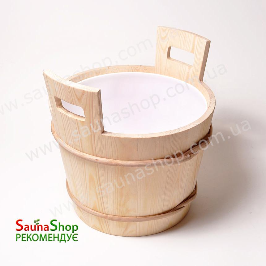 Запарник для веников Sawo 381-P, 17л. + вставка
