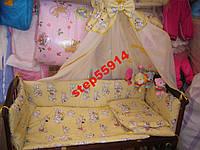 Детский постельный набор в кроватку + подарок