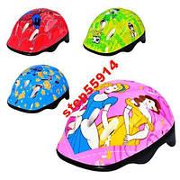 Детский шлем для роликов, велосипеда, скейта