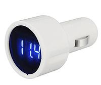 Вольтметр 4 - 30 В в прикуриватель, Измеритель напряжения автомобильный LCD