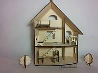 """Кукольный 3-х этажный домик """"Флоренция"""" для PetShop, my little pony"""