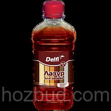 """Лазур для дерева ТМ """"Delfi"""" (дуб) 0,5 л"""