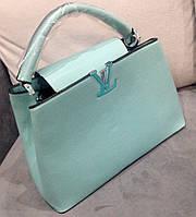 Сумка Louis Vuitton нежно- бирюзовая