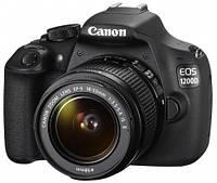 Зеркальный фотоаппарат Canon EOS 1200D kit (18-55mm DC III)