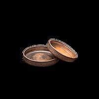 Поднос глиняный Шляхтянский AE02 Покутская керамика