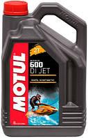 Синтетическое  масло 2T для гидроциклов MOTUL 4 литра