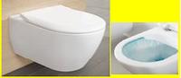 Унитаз подвесной SUBWAY 2.0 + сиденье к унитазу Soft Clousing Slim 5614R001 + 9M78S101