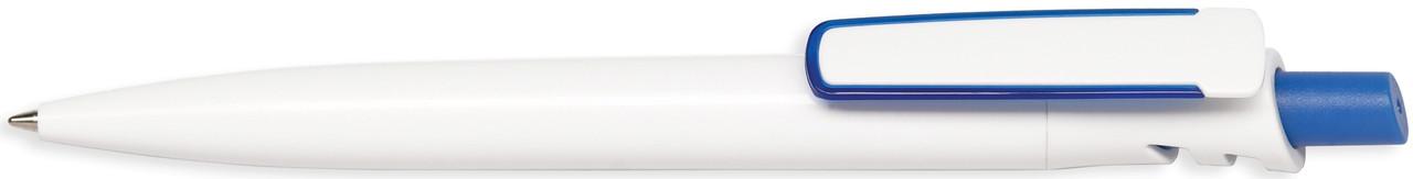 Ручка пластиковая VIVA PENS Grand Classic Bis бело-синяя