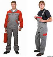 Костюм мужской, рабочая одежда для механиков, строителей