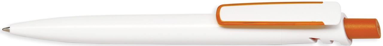 Ручка пластиковая VIVA PENS Grand Classic Bis бело-оранжевая