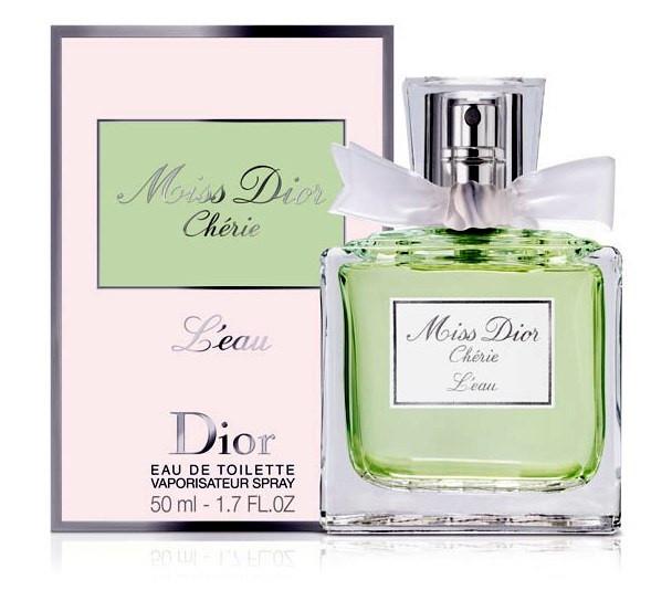 Женская туалетная вода Christian Dior Miss Dior Cherie l'Eau 50 ml