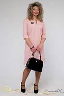 Весеннее элегантное платье до 56 размера