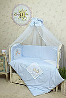 Комплект постельного белья для новорожденных Котик