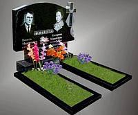 Надгробные памятники двойные горизонтальные