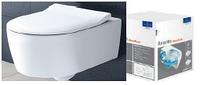 AVENTO Direct Flush унитаз подвесной с крышкой SlimSeat Soft Close 5656RS01
