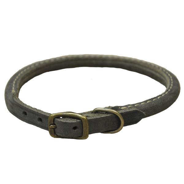 Coastal Circle-T круглий кожаный ошейник для собак,1,6смХ40см