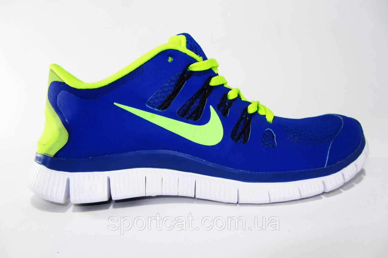 eb162353 Мужские беговые кроссовки NIKE Free Run 5.0, синие, Р. 40 41 44 от ...