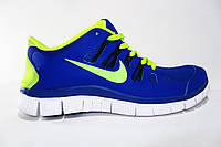 Мужские беговые кроссовки NIKE Free Run  5.0, синие, Р. 40 41 44