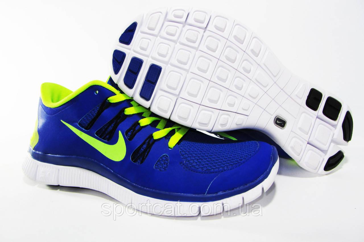 ff536f90 ... Мужские беговые кроссовки NIKE Free Run 5.0, синие, Р. 40 41 44, ...