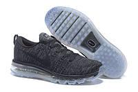 Кроссовки мужские Nike Flyknit Air Max D450 серые