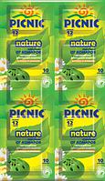 Пикник Nature пластины от комаров, 10 шт