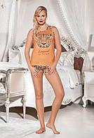 Женский комплект с шортами для сна