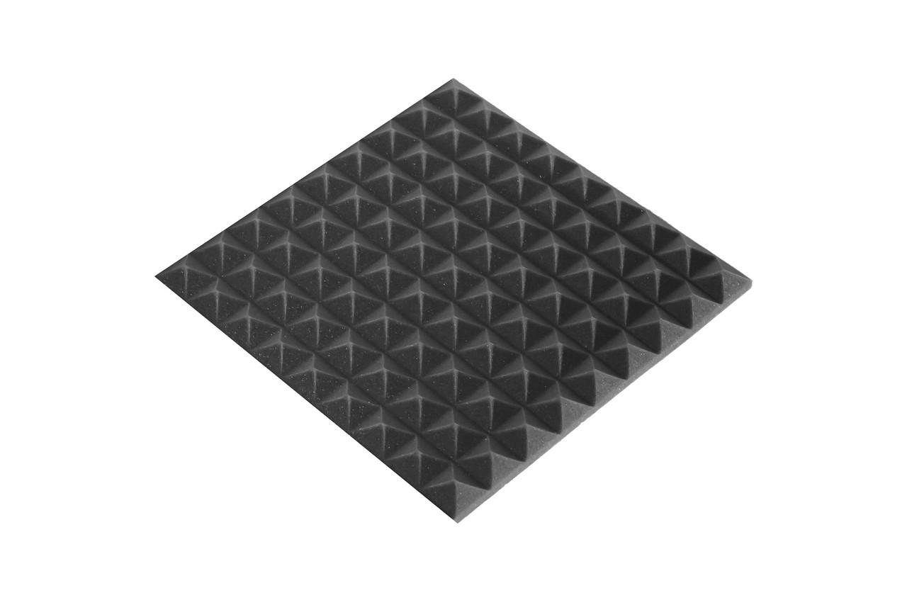 Акустическая панель Ecosound пирамида 30мм 45х45 см