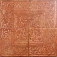 Плитка для пола керамогранит Zeus ceramica COTTO CLASSICO (RAX22) ROSONE ROSSO 65x65