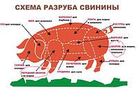 Полутуши свиные и говяжьи