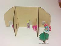 """Деревянный конструктор """"Город"""" для My Little Pony, Pet Shop, фото 1"""