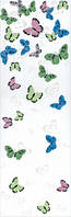 Декор Праздник красок бабочки 25х75